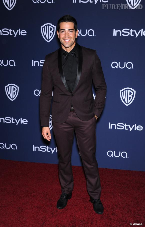 Jesse Metcalfe à l'after party des Golden Globes 2014.