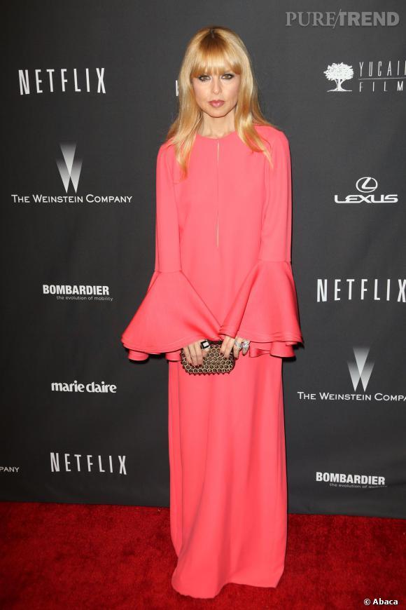 Rachel Zoe à l'after party Weinstein et Netflix des Golden Globes 2014.