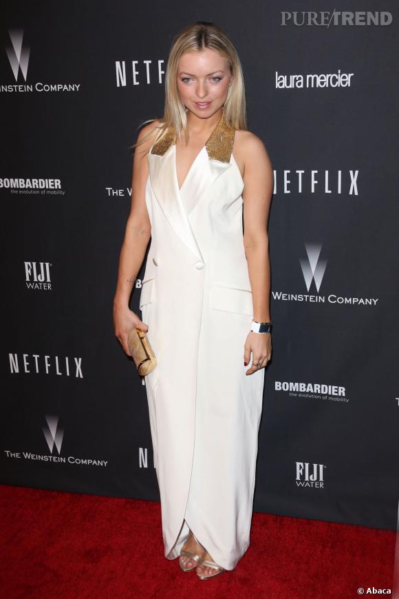 Francesca Eastwood à l'after party des Golden Globes 2014.