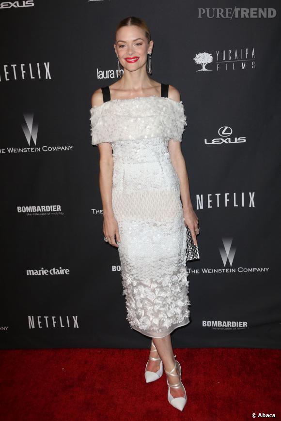 Jaime King à l'after party Weinstein et Netflix des Golden Globes 2014.