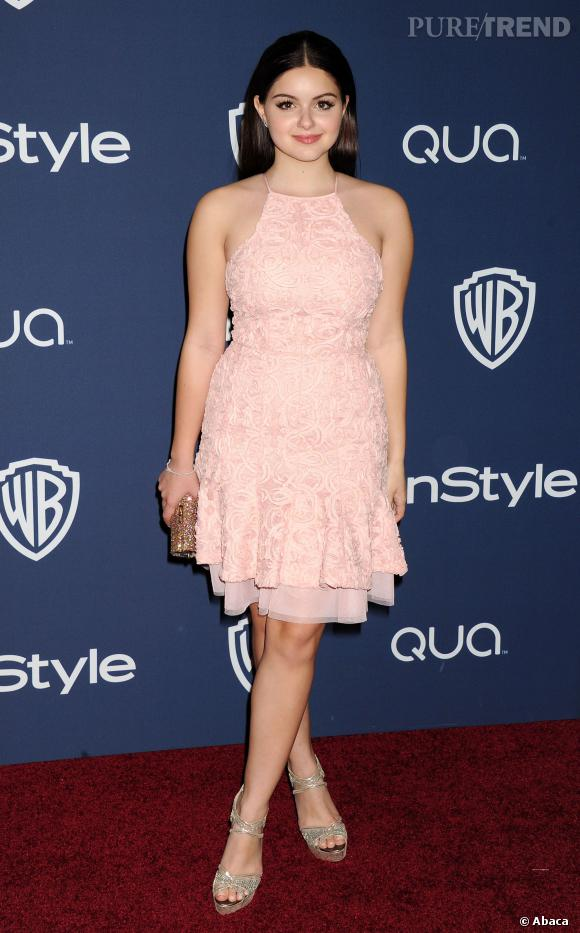 Ariel Winter à l'after party InStyle et Warner Bros des Golden Globes 2014.