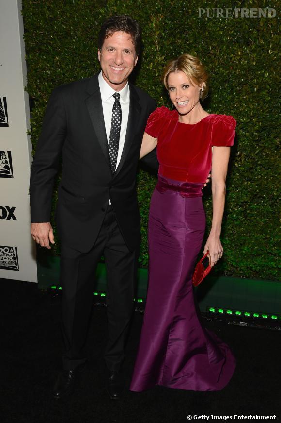 Julie Bowen et Scott Phillips  à l'after party Fox et FX des Golden Globes 2014.