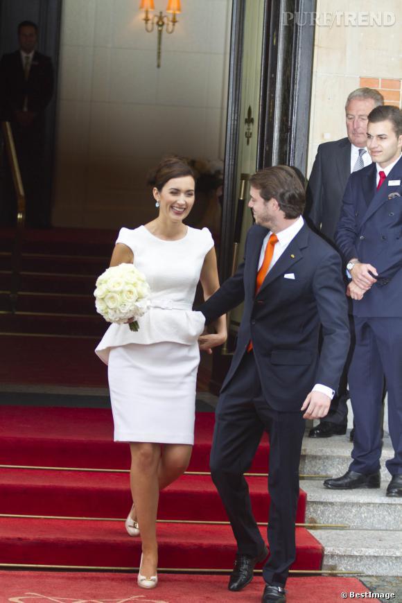 Top Felix et Claire lors de leur mariage civil. YW39