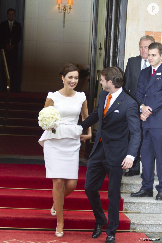 Felix Et Claire Lors De Leur Mariage Civil....