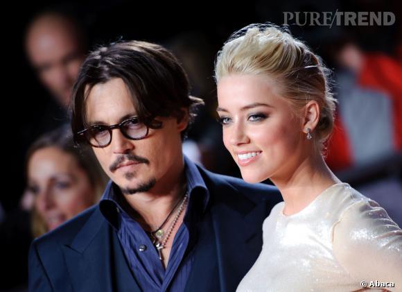 Amber Heard et Johnny Depp, fiancés ?