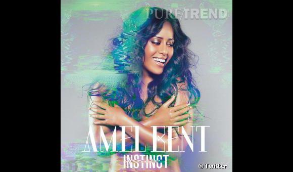 """Amel Bent a enfin dévoilé la pochette de son nouvel album """"Instinct""""."""