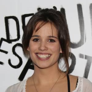 """Lucie Lucas, star de la série """"Clem"""", lors du gala de l'Union des Artistes."""