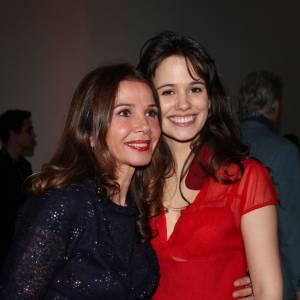 Lucie Lucas et Victoria Abril aux Film Français Awards en 2011.