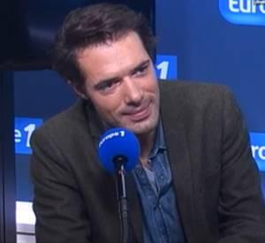 Nicolas Bedos au micro de Thomas Sotto ce matin sur Europe 1.
