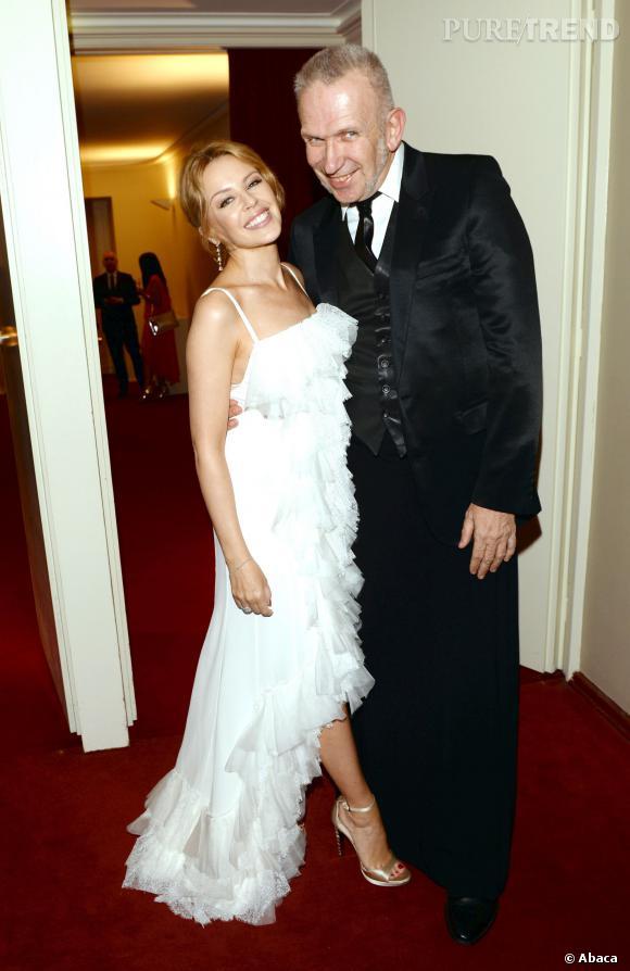 Kylie Minogue et Jean Paul Gaultier à la soirée des GQ Men of the Year Awards à Berlin en 2013.