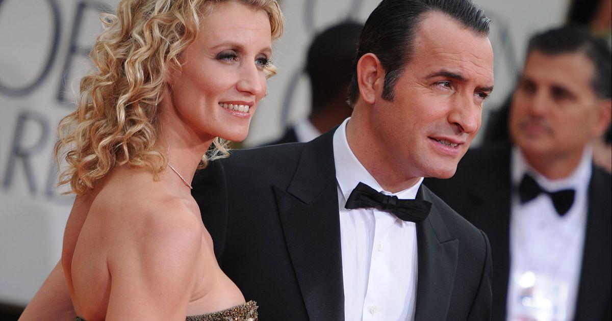 Jean dujardin a confirm sa rupture avec alexandra lamy en for Dujardin dernier film
