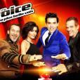 """Jenifer est dans la saison 3 de"""" The Voice"""", aux côtés de Garou, Florent Pagny et Mika."""