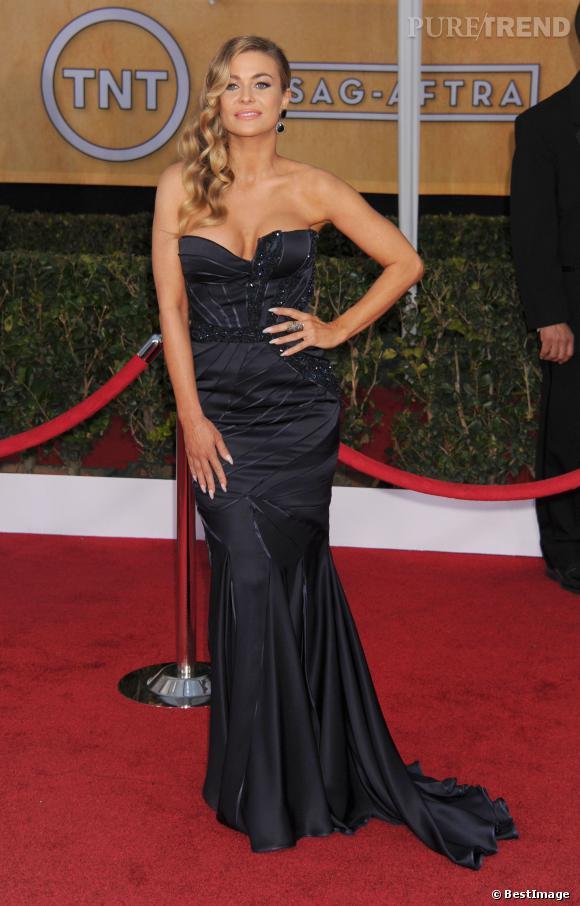 Carmen Electra aux SAG Awards, le 27 janvier 2013.