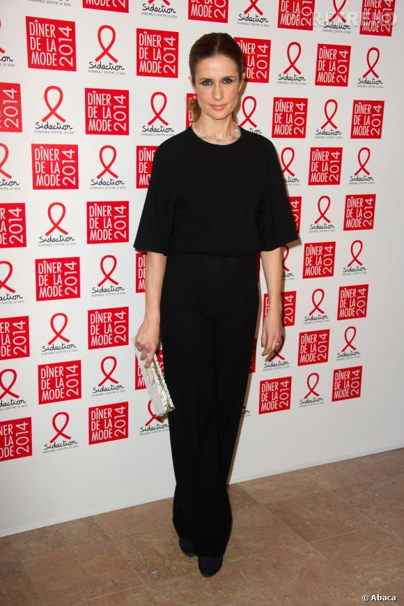 Livia Firth au 12ème Dîner du Sidaction au Pavillon d'Armenonville, le jeudi 23 janvier 2014.