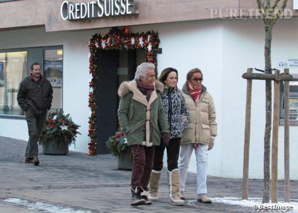 Valentino à Gstaad, un signe ?