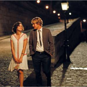 "Paris, ville romantique filmée par Woody Allen dans ""Midnight in Paris""."