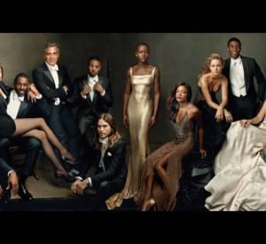 """Le numéro """"Hollywood Issue 2014"""" de Vanity Fair, célébrant les 20 ans de cette couverture annuelle."""