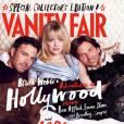 """Ben Affleck, Emma Stone et Bradley Cooper sur la couverture Vanity Fair du """"Hollywood Issue"""" de 2013."""
