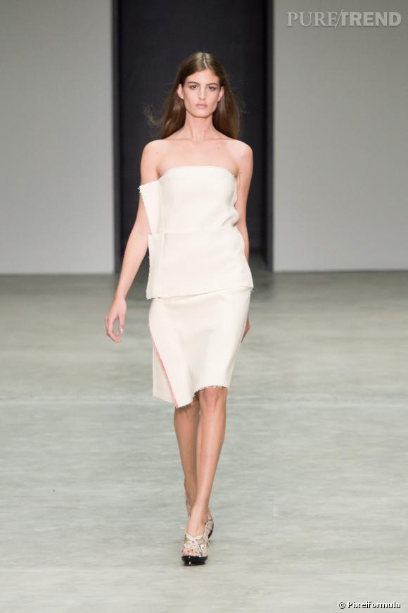 Défilé Calvin Klein Collection Printemps-Eté 2014.