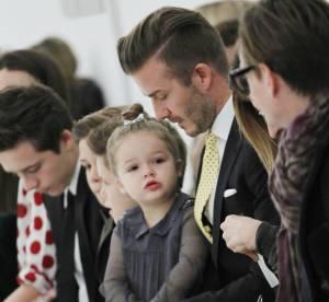 Victoria Beckham : David et les enfants au complet pour le défilé de New York
