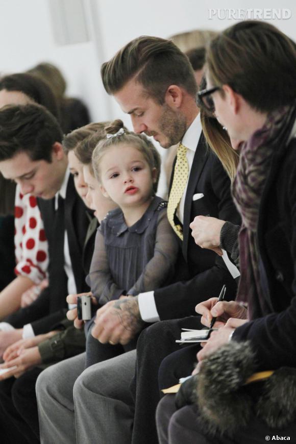 Victoria Beckham : Harper et ses frères ainsi que David Beckham sont là pour la soutenir.