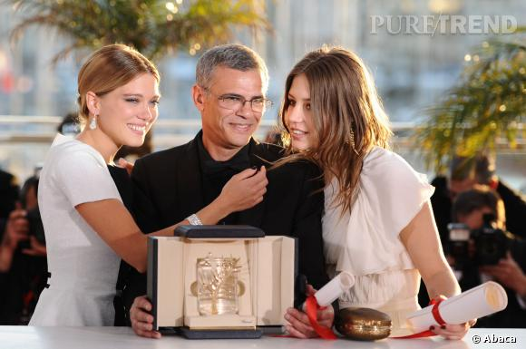 """Léa Seydoux, un nouveau triomphe pour """"La Belle et la Bête"""" après la consécration de """"La Vie d'Adèle"""" au Festival de Cannes."""