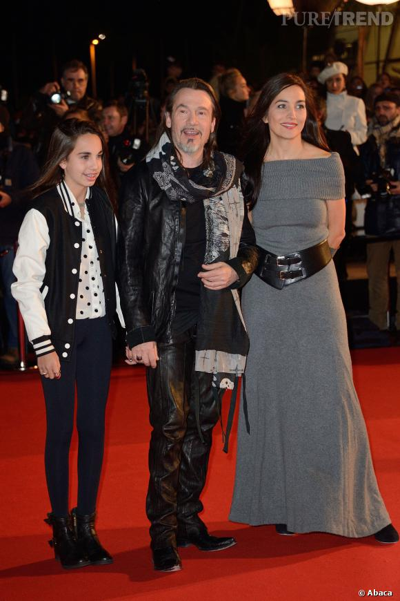 Florent Pagny, en famille sur le red carpet des NRJ Music Awards.