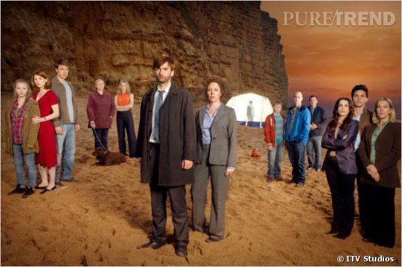 """""""Broadchurch"""", la série policière qui va vous rendre addict débarque ce soir sur France 2."""