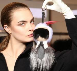 Défilé Fendi : l'insolite poupée en fourrure de Karl