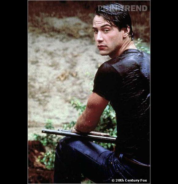 """Keanu Reeves, star grâce à """"Point Break"""", sorti en 1991."""