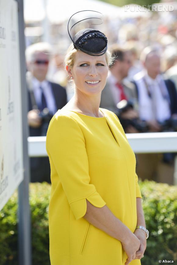 La jolie Zara Phillips est maman d'une petite Mia et compte bien en parler à qui bon lui semble.