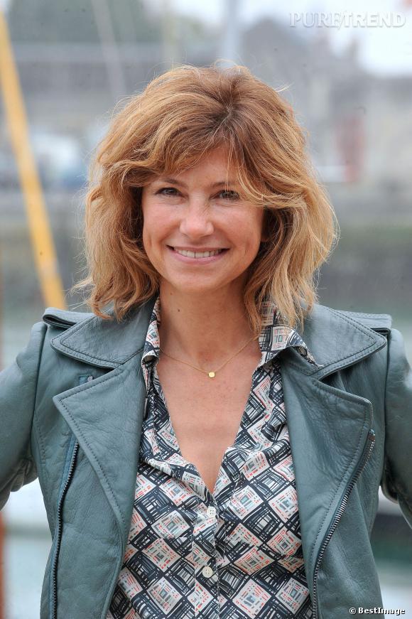 """Florence Pernel, elle décroche le rôle de sa carrière en incarnant le juge Larrieu, dans """"Le juge est une femme"""" de 1993 à 2002."""