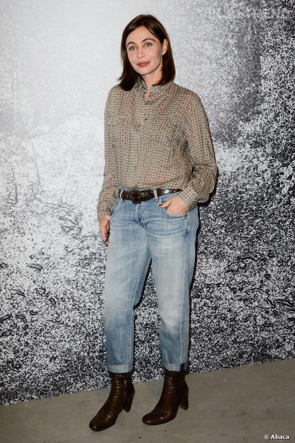 Emmanuelle Béart en tenue préférée