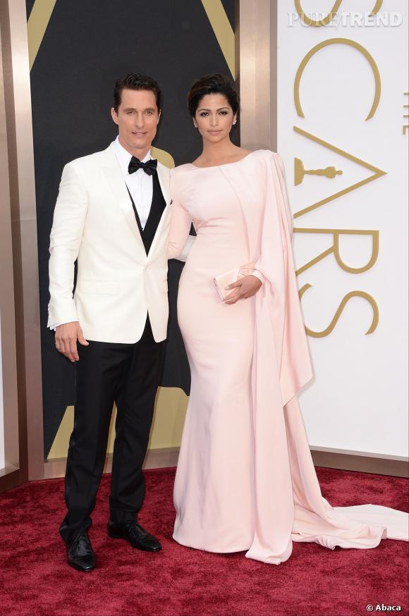 Matthew McConaughey : un Oscar et bientôt un bébé ?