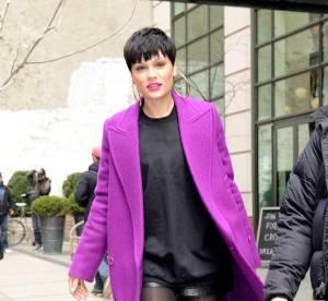 Jessie J : l'ultraviolet sexy et mini short à New York... Un look osé à copier !