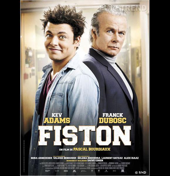 """""""Fiston"""", avec Kev Adams et Franck Dubosc, sortie en salles prévue le 12 mars 2014."""
