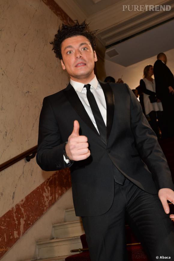 Kev Adams lors de la cérémonie des César 2014.