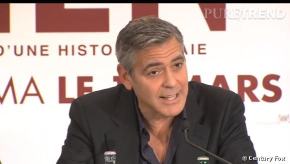 """George Clooney en trois questions pour """"Monuments Men""""."""