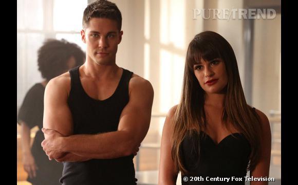 """Dean Geyer alias Brody dans """"Glee""""."""