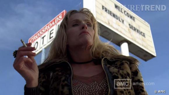 "Julia Minesci alias Wendy dans ""Breaking Bad""."