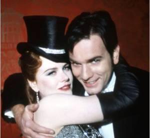 """Ewan McGregor et Nicole Kidman, un duo bankable et rêvé pour """"Moulin Rouge""""."""