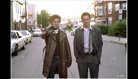 """Sean Penn et Kevin Bacon, les rois d'Hollywood dans """"Mystic River""""."""