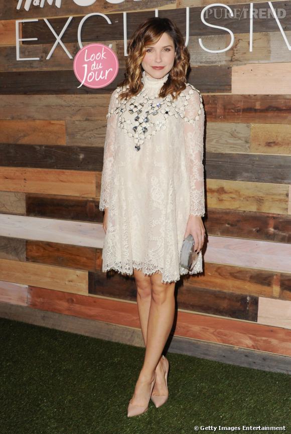 Sophia Bush lors de la soirée de lancement de la collection H&M Conscious en Californie le 19 mars 2014.
