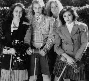 """Shannen Doherty dans """"Fatal Games"""", en 1988."""