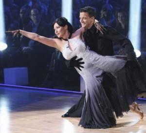 """Shannen Doherty lors de sa participation à """"Danse avec les stars"""" en 2010."""