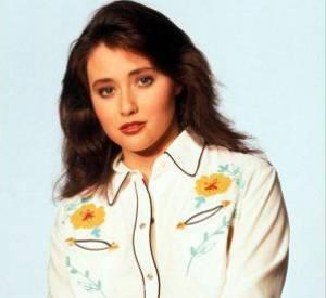 "Shannen Doherty, star de la série ""Beverly Hills 90210""."