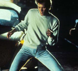 "Kevin Bacon dans ""Footloose"" en 1984."