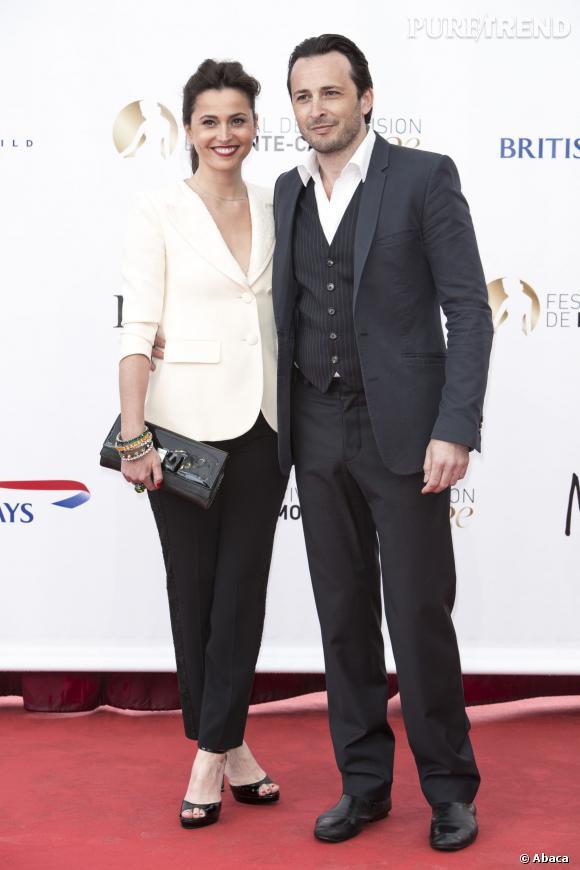 Anne Charrier et Michael Cohen au Festival de Monte-Carlo, en 2013.