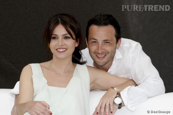 """Anne Charrier et Michael Cohen, acteurs dans """"Maison close""""."""