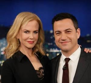 Nicole Kidman et sa lap dance chez (et sur) Jimmy Kimmel.